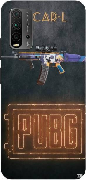 Snapcrowd Back Cover for Mi Redmi 9 Power Pubg Scra-l Gun back cover