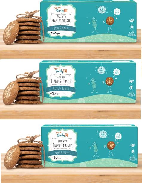 SurelyFitt Party With Peanuts Cookies