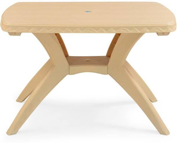 Nilkamal Plastic 4 Seater Dining Table