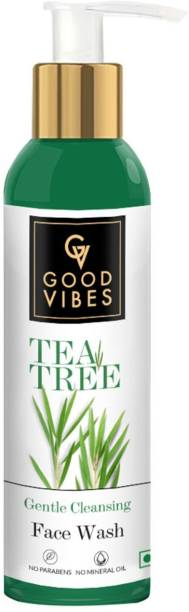 GOOD VIBES Gentle Cleansing  - Tea Tree (120 ml) Face Wash