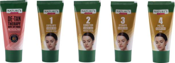 Nature's Essence Glowing Gold Facial Kit
