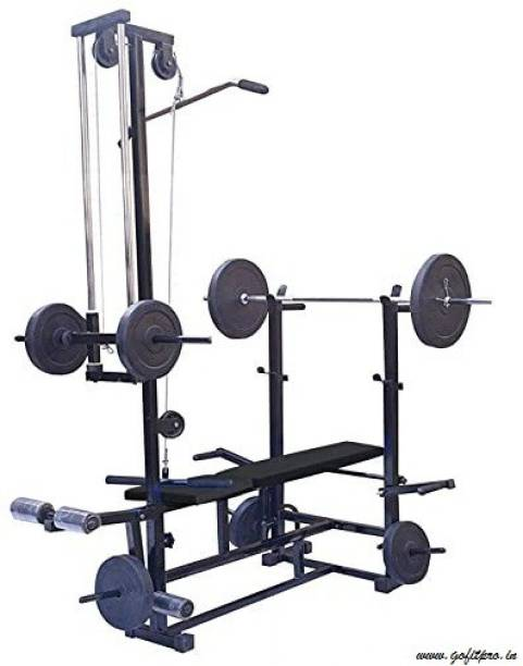 GoFiTPrO 20 in 1 double support black Multipurpose Fitness Bench