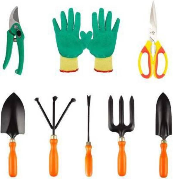 AgroCart Gardening 8 tool combo Garden Tool Kit