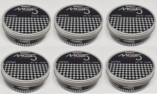 MG5 INAMORATA MEN Hair Wax Pack of 6 (150gm/piece) Hair Styler Hair Wax