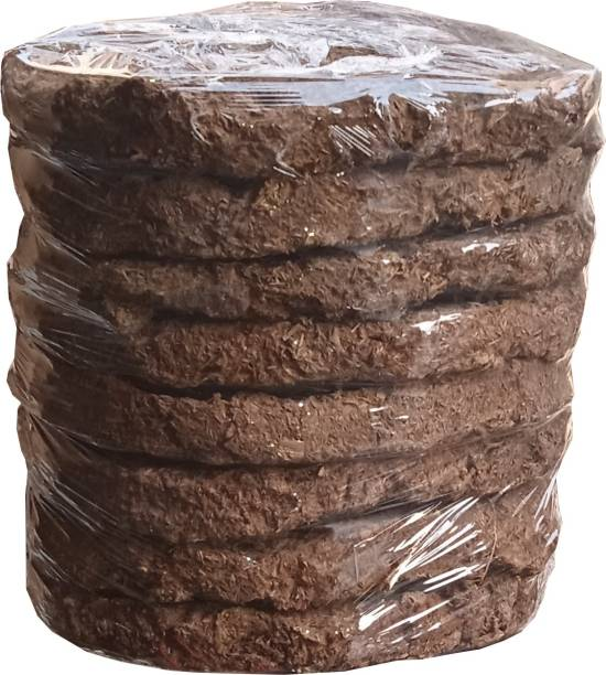 KUTTACK Original cow dung cake pack for 8 pcs with combo 5 pcs giloy stick