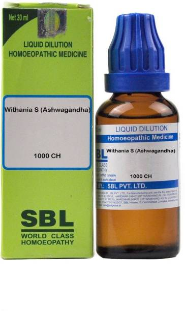 SBL Withania S (Ashwagandha) 1000 CH Dilution