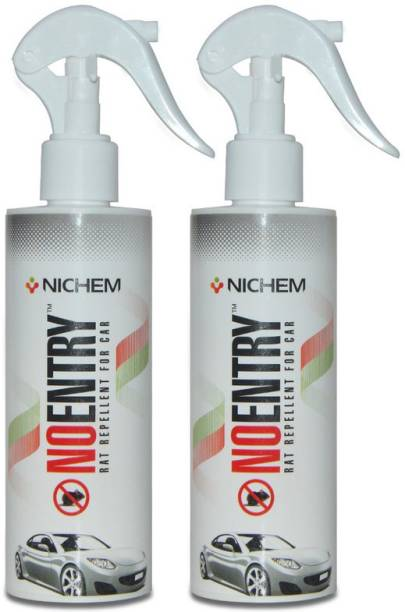 No Entry Rat Repellent Spray For Cars, 400ML , Pack of 2