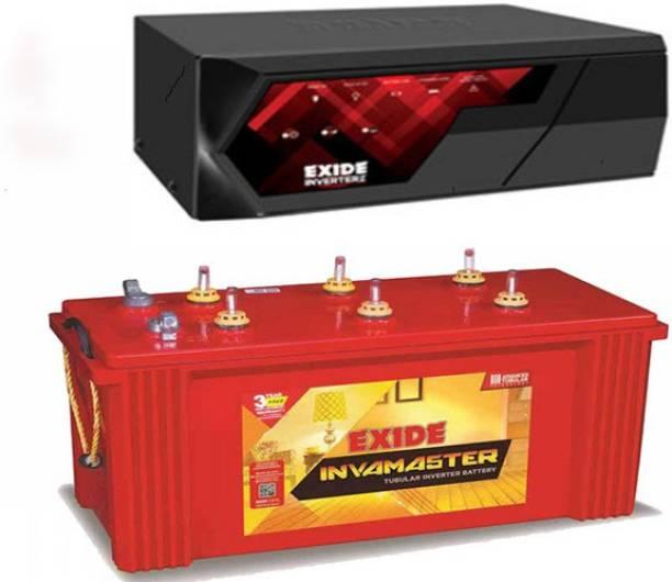 EXIDE IMST1500+Magic825 Tubular Inverter Battery