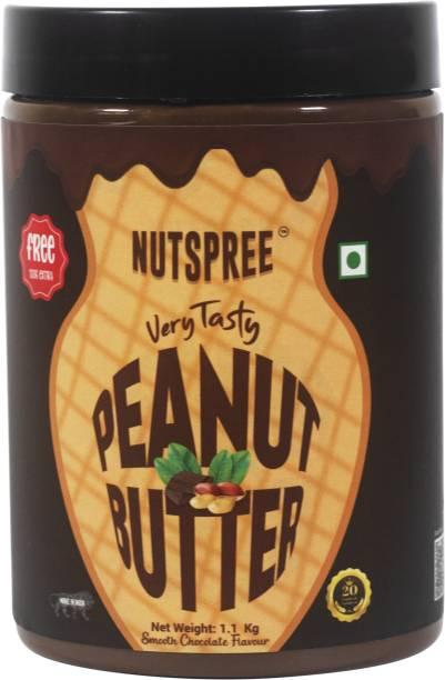 FB Nutrition NUTSPREE 5 Nuts High Quality Peanut Butter 1.1 kg