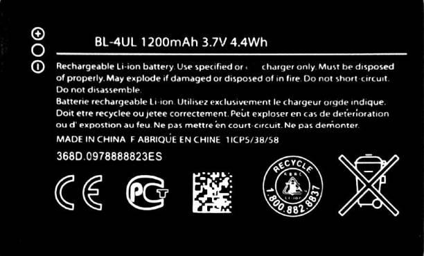 MATSV Mobile Battery For  Nokia 230/220 4G/225/3310/TA-1030/ BL-4UL