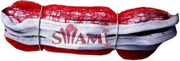 Swami Nylon Single Side Tap Badminton Net Pack Of 1 Piece Badminton Net