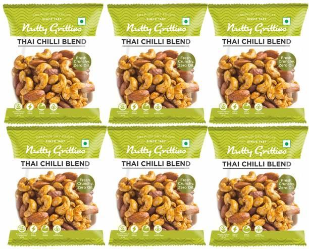 Nutty Gritties Thai Chilli Blend Almonds, Cashews