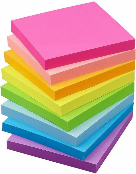 OFIXO Sticky Notes 400 Sheets Regular, 5 Colors