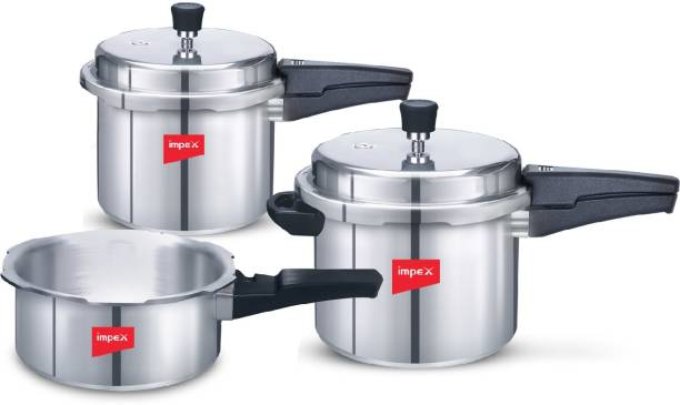 IMPEX Special Combo IFC 235 2 L, 3 L, 5 L Induction Bottom Pressure Cooker