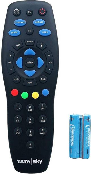 Tata Sky 100% Original Universal (Works With All Tv) NOT A RECORDING REMOTE Tata Sky Setop Box, Tata Sky box, Tata Sky hd Remote Controller