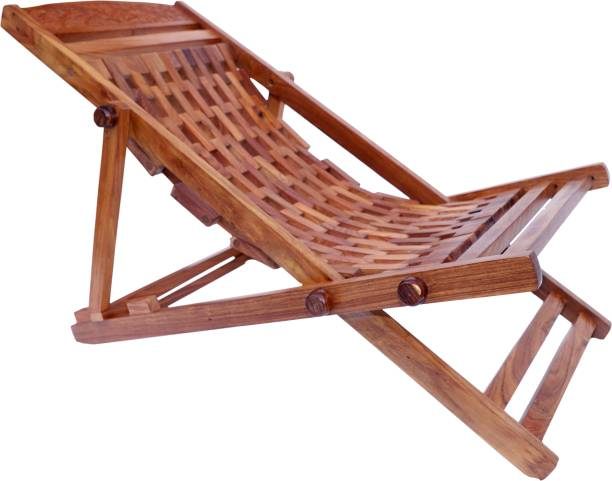 Artesia Folding Sheesham Wood Relaxing Rest Chair Solid Wood 1 Seater Rocking Chairs