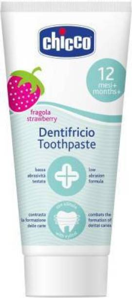 chicco Strawberry Flavoured Toothpaste Toothpaste