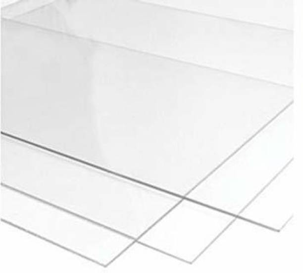 "laxmi acrylic Craft Acrylic Sheet Board Glass Transparent Clear Plexiglass Size: 12""x12"" 2mm Thicknessfor Glass Painting, Craft and DIY Project 12 inch Acrylic Sheet (2 mm) 12 inch Acrylic Sheet"