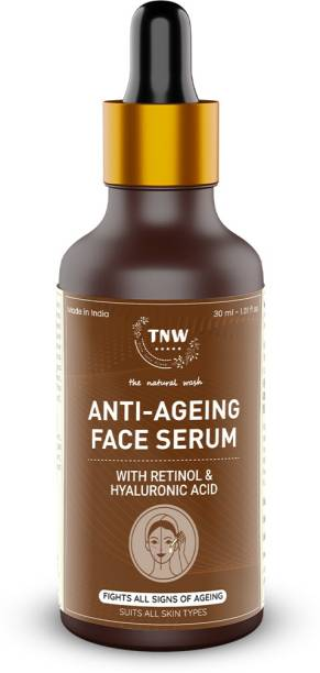 TNW - The Natural Wash Anti-Ageing Face Serum with retinol & Hyaluronic Acid,Fights all signs of ageing,Suits all skin Types
