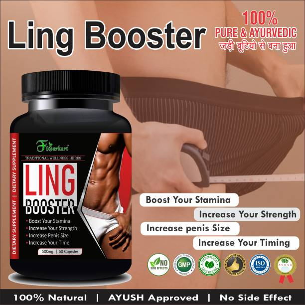 Floarkart Ling Booster Ayurvedic Capsules For Improves Male Performance 100% Herbal