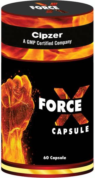 CIPZER Force X Capsule - For Non Stop Performance