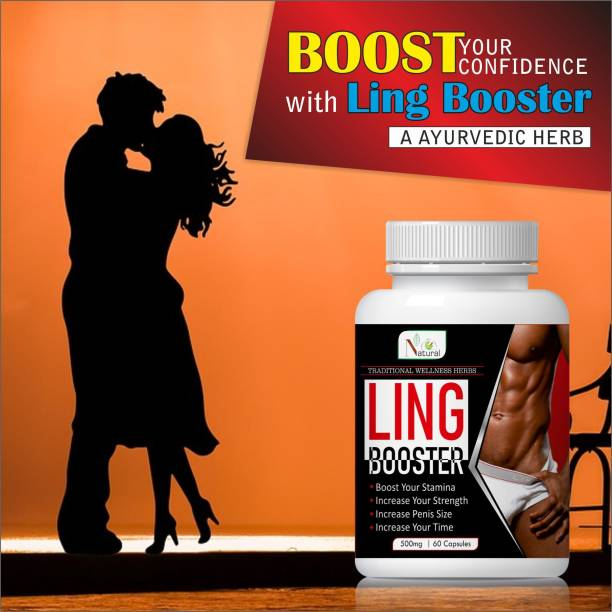 Natural Ling Booster Herbal Capsules For Men's Health Care 100% Ayurvedic