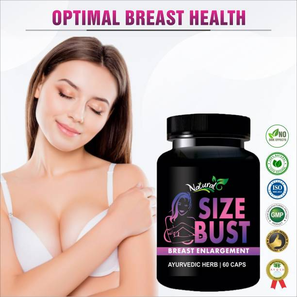 Natural Size Bust Capsules for Increase Your Boobs Size/ Prevents Sagging Your Breast Size 100% Ayurvedic