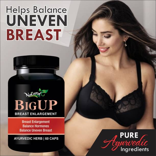 Natural Big Up Herbal Capsules For Women's Health Care 100% Ayurvedic
