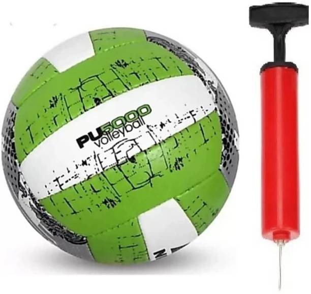 clark Pu 5000 volleyball with red pump Volleyball - Size: 4