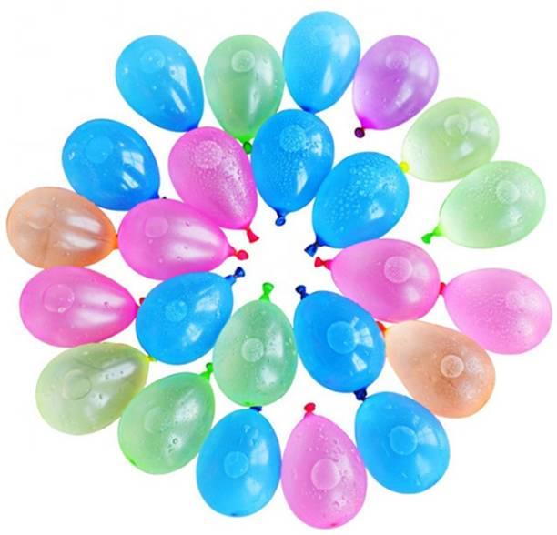 Kidzoo Solid 600pcs Non Toxic Holi Water Balloons For Kids Multicolor Balloon