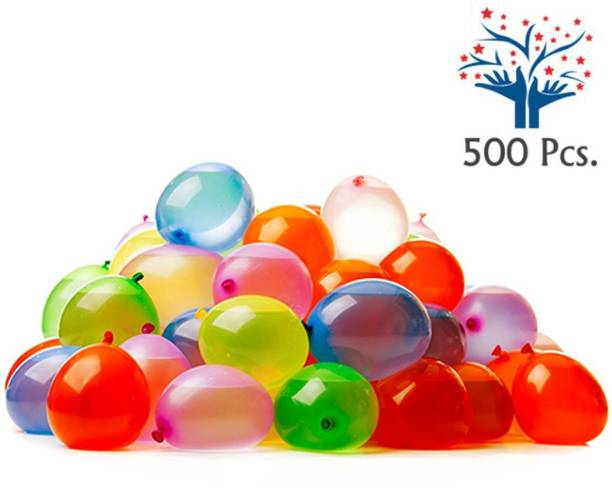 DECOR MY PARTY Solid High Quality Non Toxic Holi Water Balloons for Kids / Holi Balloon Packet / Holi Pichkari Balloon Balloon