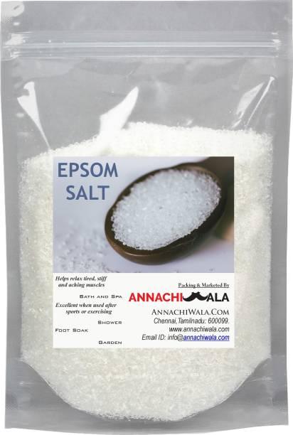 ANNACHIWALA EPSOM SALT 4600g for BATH acne , body pain, muscle pain and hair