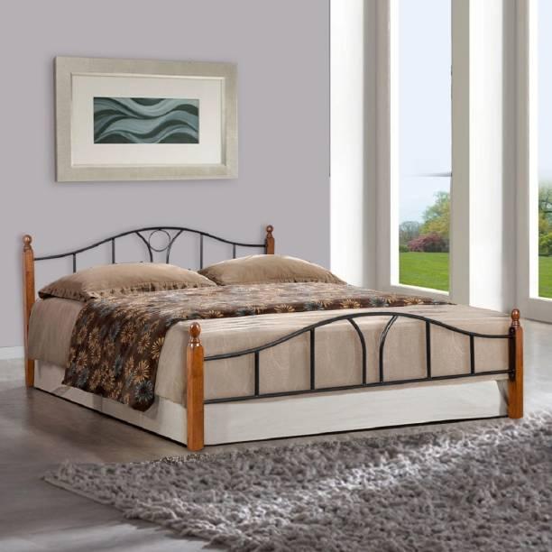 FurnitureKraft Toronto Metal Queen Bed