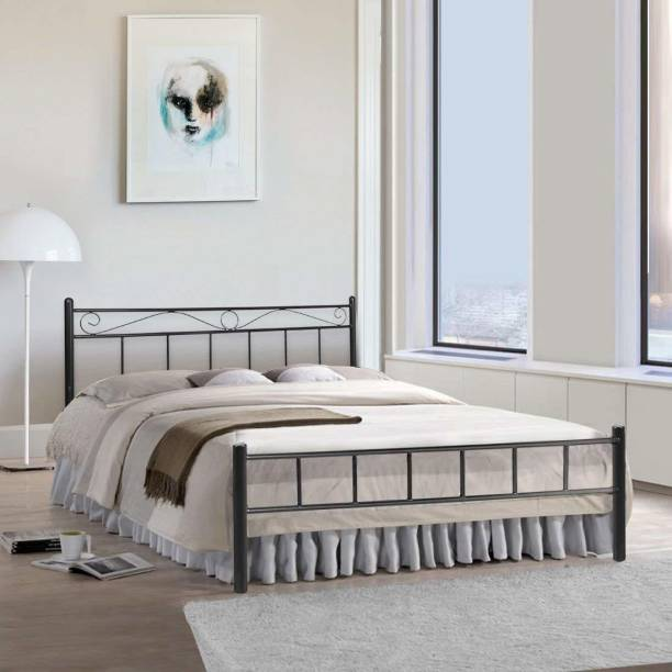 FurnitureKraft London Metal Queen Bed