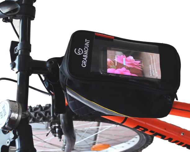 GRABMOUNT Bicycle Phone Bag Waterproof Frame Tube Bag Touch Screen Bicycle Phone Holder Bicycle Phone Holder