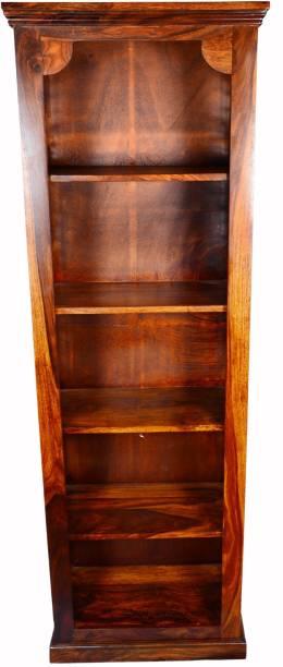 ROOFWOOD BOOK SELF Solid Wood Open Book Shelf