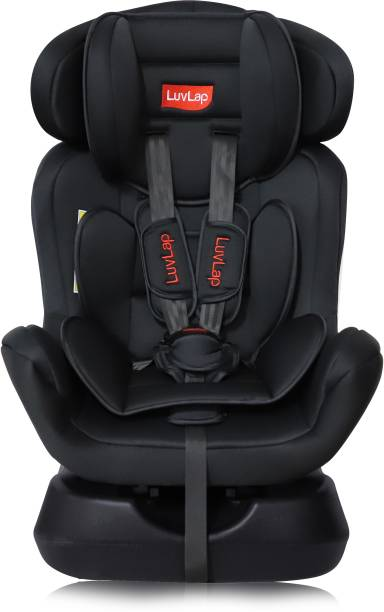 LuvLap Galaxy Convertible Car Seat for Baby & Kids from 0 Months to 7 Years (Black) Baby Car Seat