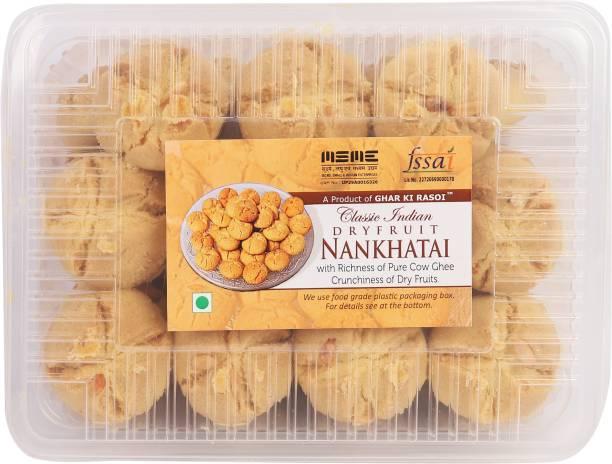 Ghar Ki Rasoi Nankhata Healthy & Fresh/ Handmade/ Sweet & Tasty - 500 g