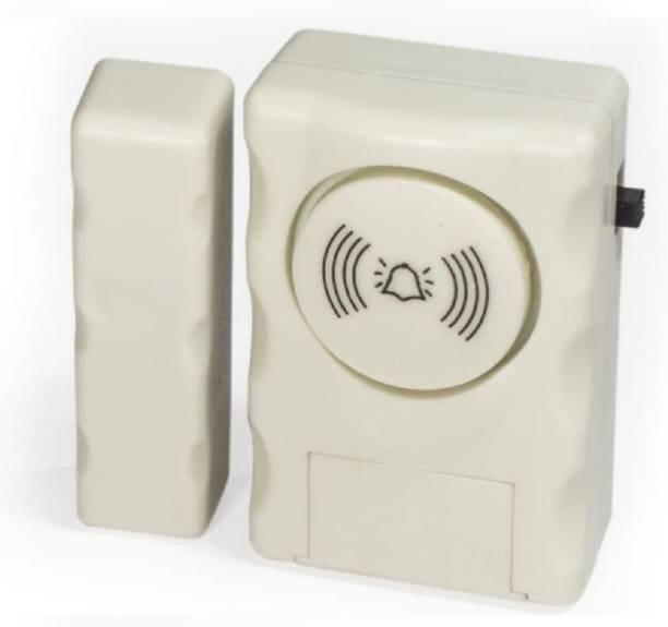 Fedus door alarm sensor for home, door alarm for main door, window alarm security for home, door open alarm for home, door open sensor alarm, Pack -1 Door & Window Door Window Alarm