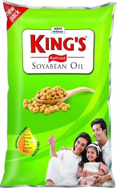 Kings Soyabean Oil Pouch