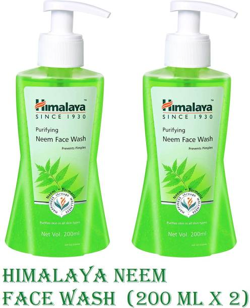 HIMALAYA Purifying Neem  (200ml x 2) Face Wash