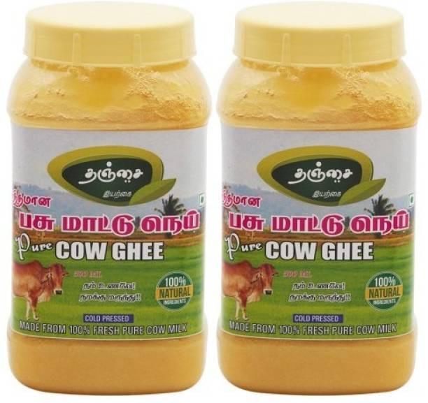 Thanjai iyerkai Cow Ghee 1000ml 100% Natural 1000 ml Plastic Bottle