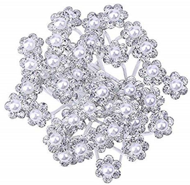 oberlo Juda With Stones Wedding accessories For Women And Girls Hair Pin