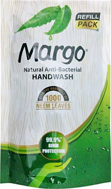 Margo Natural Anti-Bacterial Hand Wash Refill Pouch