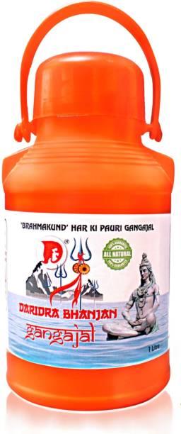 "DARIDRA BHANJAN 2.6 LTR GANGAJAL Pure GangaJal Water ( ""BRAHMA KUND"" HARIDWAR )"