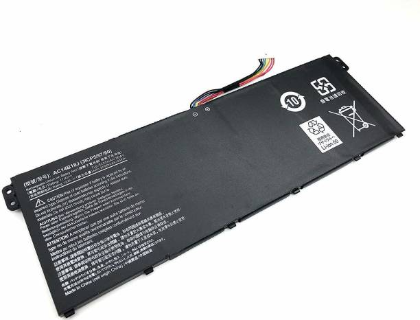SellZone Replacement Laptop Battery Compatible For AC14B18J AC14B8K for Acer Aspire ES1-311 ES1-411 ES1-421 ES1-431 ES1-511 ES1-512 ES1-521 ES1-531 ES1-572 ES1-711 6 Cell Laptop Battery