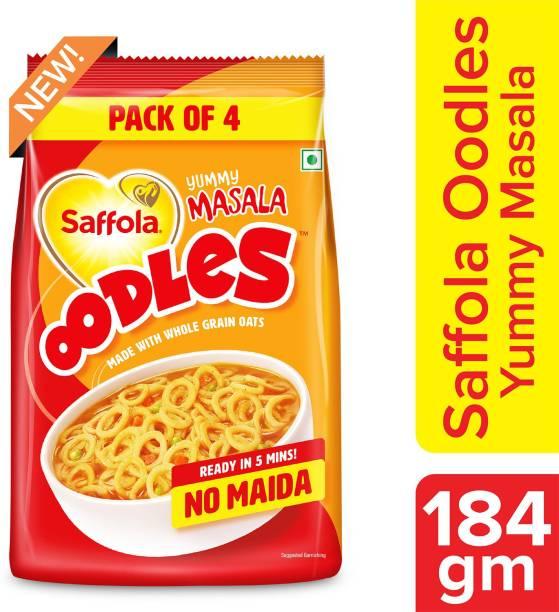 Saffola Oodles Yummy Masala, No Maida Instant Noodles Vegetarian