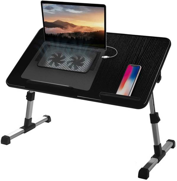 StarAndDaisy Laptop Table with Cooling Fan Wood Portable Laptop Table