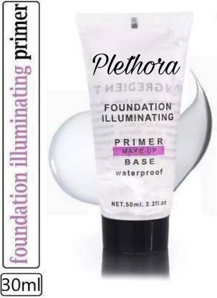 Plethora HB Foundation ILLuminating Makeup Base Waterproof  Primer  - 50 ml