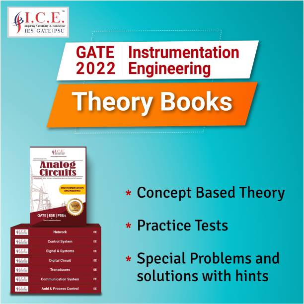 GATE Instrumentation Complete Engineering Study Materials 2022: Theory Books- All Subjects